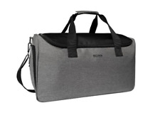 BRAND NEW BOSS HUGO BOSS GREY DUFFLE WEEKEND TRAVEL SPORTS GYM HOLDALL BAG