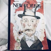 """THE NEW YORKER March 2, 2020 Bloomberg """"All That Money Can Buy"""" by Barry Blitt"""