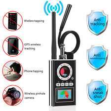 Anti Spy Rf Detector Bug Detector Camera Finder Radio Scanner for Gps Gsm Bugs