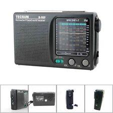 TECSUN R-909 AM FM SM MW 9 Bands Multi-Bands Radio Receiver Built-In Speaker New