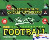 2016 Panini Classics Football HUGE Factory Sealed HOBBY Box-AUTOGRAPH & 140 Card