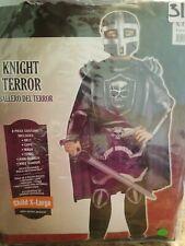 Knight Terror Halloween Costume Child XLarge #289