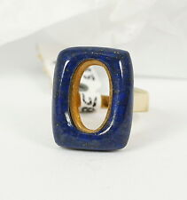 Ring in 585 Gold mit Lapis
