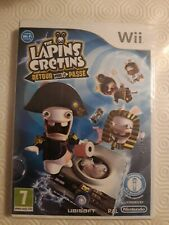 THE LAPINS CRÉTINS LA GROSSE AVENTURE WII COMPLET FR CD NEUF SOUS BLISTER