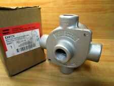 """Crouse & Hinds EABY26 3/4"""" Conduit Outlet Box W/Cover"""