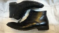 Von Morke Leather Winter mens black boots shoes size 45EU  10.5 UK di