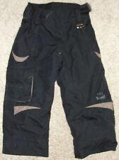 Marker Snow Pants Sz 4 Black Preschool Ski Toddler Youth Boys or Girls