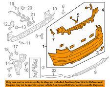 AUDI OEM 17-18 A3 Sportback e-tron Rear Bumper-Cover 8V4807067KGRU