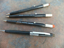 Vintage Lot of 4 Scripto Mechanical Pencils - (3) Ge General Electric & 1 Other