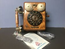 Thomas Classic Edition Wood Telephone Model PP111 New In Box w/All Accessories