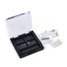 Empty4 Square Grids Eyeshadow Lipstick Powder Box Case Cosmetic Packing+Palette/