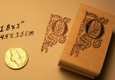Monogram Letter O rubber stamp  WM P41