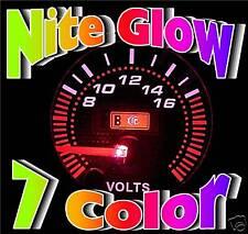 "POLARIS RANGER RZR LED VOLT VOLTAGE 2"" GAUGE 52mm METER"