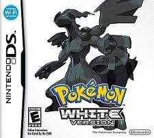 Pokemon White Version Game DS