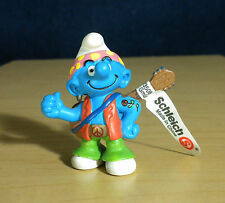 Smurfs Hippie Smurf Guitar Earring Tattoo Vintage Figure PVC Toy Woodstock 20517
