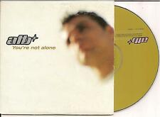 ATB - you're not alone CD SINGLE 3TR CARDSLEEVE (ARS) 2002 Trance RARE!!