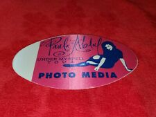 Vintage Paula Abdul Under My Spell Tour Photo Media Backstage Pass