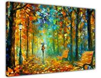 AT54378D Millions Of Leaves By Leonid Afremov Canvas Pictures Painting RePrint
