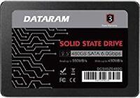 "DATARAM 480GB 2.5"" SSD DRIVE FOR HP PROBOOK 450 G3"