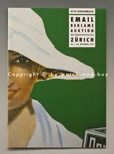 Katalog EMAIL REKLAME AUKTION ZÜRICH Okt.1991