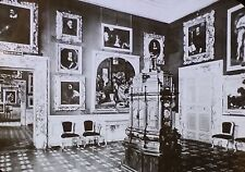 Hall of Justice, Uffizi Gallery, Magic Lantern Glass Slide, (Florence, Italy)
