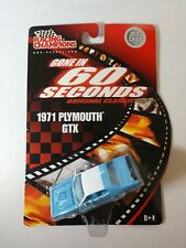 1971 Plymouth GTX BLUE Gone In 60 Seconds 1:64 Racing Champions BRAND NEW