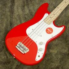 Squier: Electric Bass Bronco Bass Torino Red NEW