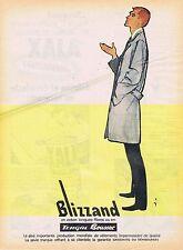 PUBLICITE ADVERTISING 114 1960 BLIZZAND par René Gruau