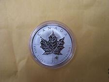 2004 silver maple leaf- zodiac SAGITTARIUS  privy mark- 1 OZ .9999 fine silver