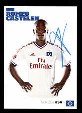 Romeo Castelen Autogrammkarte Hamburger SV 2011-12 Original Signiert+A 128856