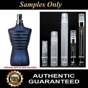Jean Paul Gaultier ULTRA MALE Sample - 2ml / 5ml / 10ml - 100% Genuine