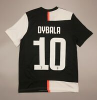 NWOT Dybala Juventus Home 2019 2020 Football Soccer Shirt Adidas Youth Size L