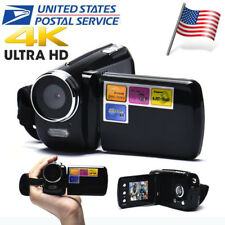 4K 1080P Full HD 1.8 Inch LCD TFT 4X Digital Zoom Mini Video Camcorder DV Camera
