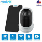 Reolink Outdoor 1080p Wireless Security Camera Night Vision Argus2E +Solar Panel