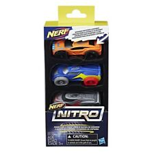 100% Hasbro NERF NITRO FOAM CAR 3Pack (SET 2) 2017 NEW IN-STOCK