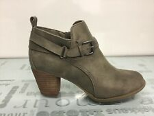 REPORT Womens Caroline Olive Ankle Boots Size WMS 8.