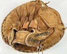 "NOKONA Vintage 10""  Brown Leather RH Thrower Baseball Softball Catchers Mitt"