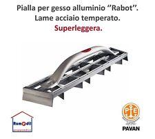 Pialla Cartongesso Lame acciaio temperato liscie in Alluminio Superleggera Pavan