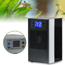110V Aquarium Water Chiller Fish Shrimp Tank 35L Cooler Heating Cooling Machine