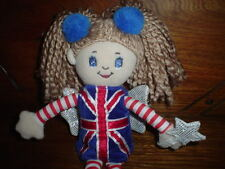 Keel Toys Kent England Stuffed UK Fairy Doll with Wand