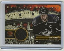 13-14 2013-14 Crown Royale Mythology Materials #MYRBL Rob Blake/100 LA Kings
