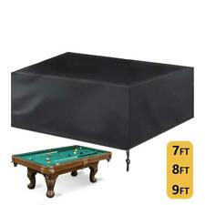 GSE Games & Sports Expert Heavy Duty Leatherette Pool Table Cover   Billiard 8ft