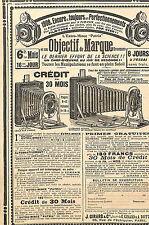 APPAREILS PHOTO ETS GIRARD & BOITTE PARIS ECHIQUIER PUBLICITE 1908
