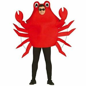 Crab Red Fancy Dress Costume Hen Night Stag Night