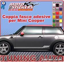 Mini Cooper - Fasce adesive a 1 colore - cod. art. cx64