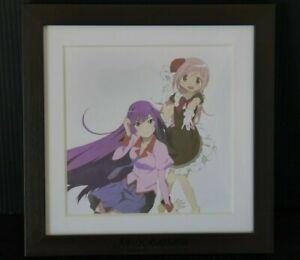 japan r1) Madogatari Exhibition: Madoka & Hitagi Framed Art