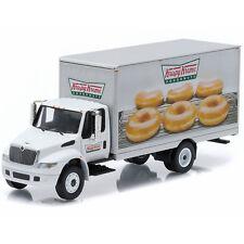 Greenlight 2013 Int'l Durastar Krispy Kreme Donuts Box Truck 1:64 Diecast 33040B