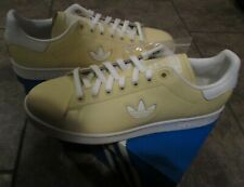 Adidas Originals Stan Smith Tennis Shoes Easy Yellow Brand New #BD7438 Size 10