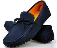 Men's British style Suede Leather Lined  Driving Moccasin Loafer Casual Shoes Sz
