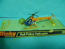 DINKY TOYS ELICOTTERO BELL POLICE HELICOPTER 732